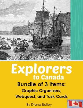Explorers to Canada - Bundle of 3 Items