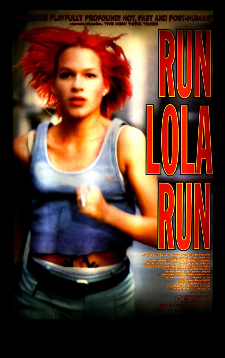 run lola run speach The film run lola run to explicate three agentic orientations—victim, supplicant,  and director—each  run lola run features the young lovers lola and manni  who live on the fringes of  quarterly journal of speech, 91(2), 144–174 hardy .