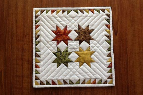 miniature quilt pattern mini quilt pattern von AnniesQuiltCraft
