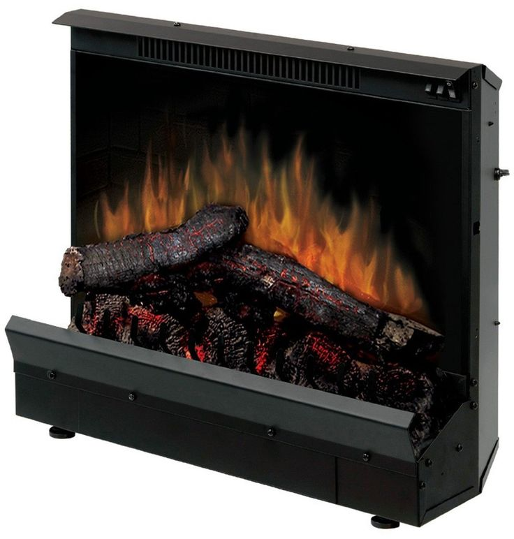 Dimplex Electric Fireplace Deluxe 23inch Insert Space Heater Portable
