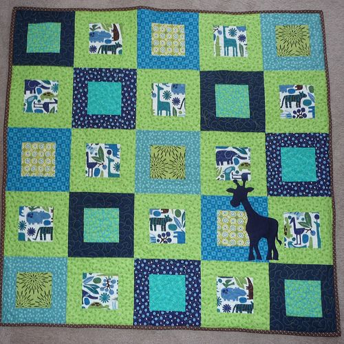 Carmela's baby's quilt | by Burstyriffic