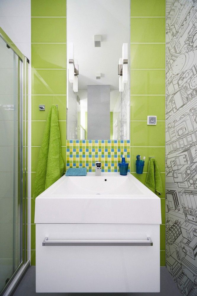 stunning chartreuse tile - Google Search