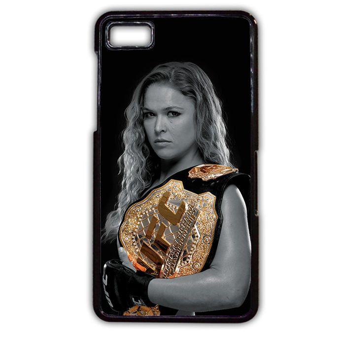 Ronda Rousey UFC TATUM-9322 Blackberry Phonecase Cover For Blackberry Q10, Blackberry Z10