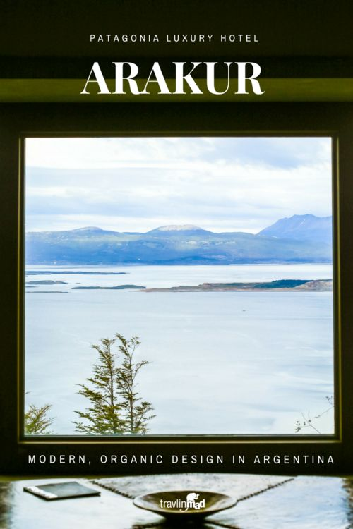 The wilderness of Patagonia isn't without luxury. Arakur is modern luxury, with understated design, reflective of the color and organic texture of Patagonia. If you get the chance, splurge. Ushuaia, Argentina, Tierra del Fuego