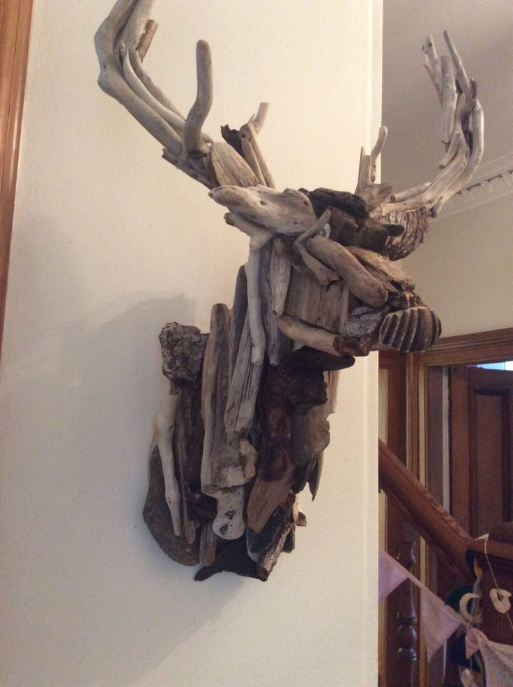 A personal favourite from my Etsy shop https://www.etsy.com/uk/listing/469724436/large-driftwood-stag-west-coast-scotland