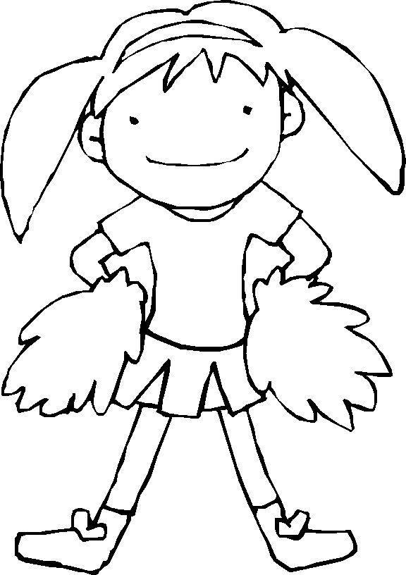 228 Best Images About Cheerleading On Pinterest Cheer Gymnasts - cheerleading coloring pages 2
