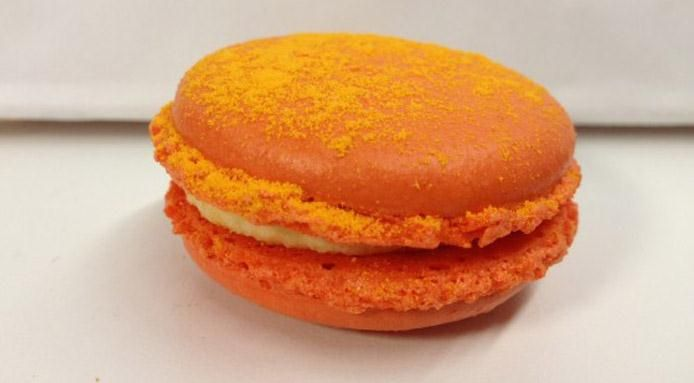 Cheetos Flavored Macarons