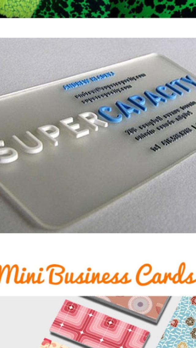 Mini Yoga Mat Business Cards   Best Business Cards