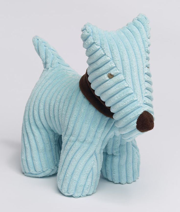 Blue Doggy door stop. From the pilbeam.com.au range of soft toys