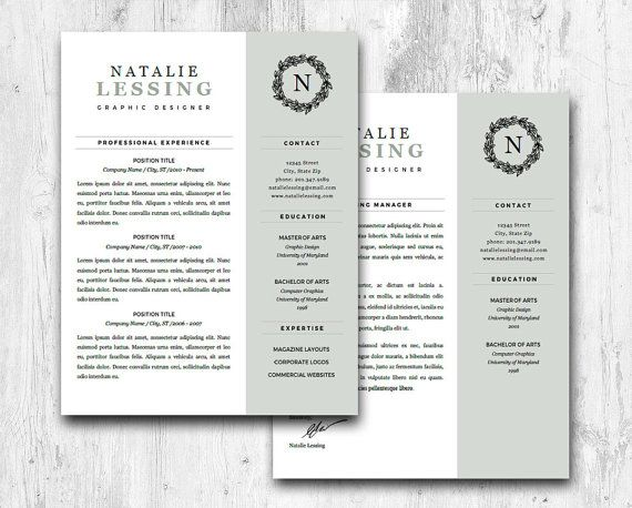 20 best professional resume templates images on pinterest cover letters resume templates and cv template