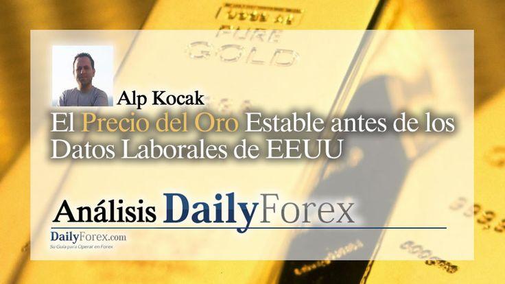 El+Precio+del+Oro+Estable+antes+de+los+Datos+Laborales+de+EEUU