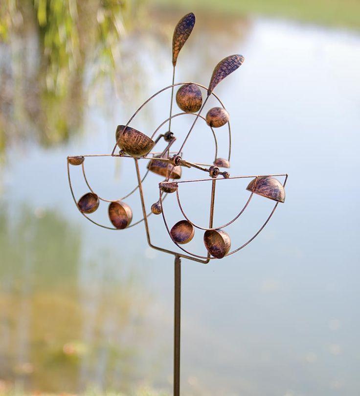 15 best Wind Spinners images on Pinterest | Sculptures, Garden art ...