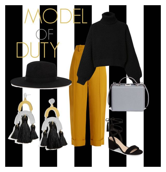 """""""Model of Duty"""" by emmamashilo on Polyvore featuring Tempaper, Chloé, Diesel, BP., Satya Twena, BaubleBar and Mark Cross"""