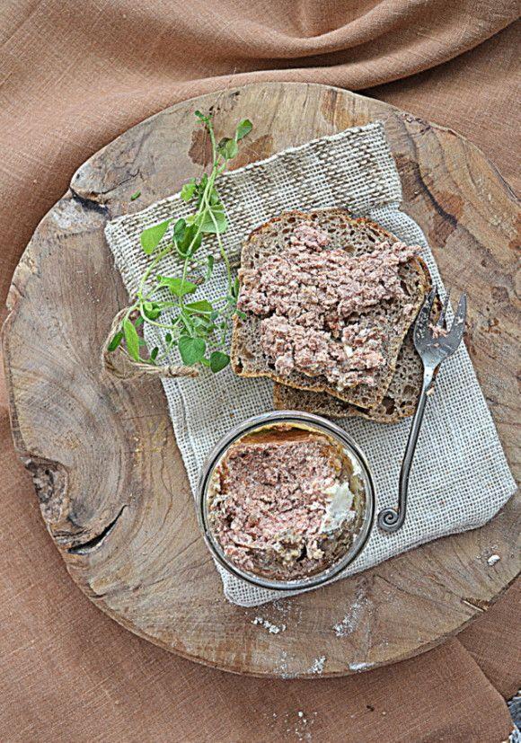 Pâté z wieprzowiny i Roqueforta  #GRYZ #MagazynGRYZ