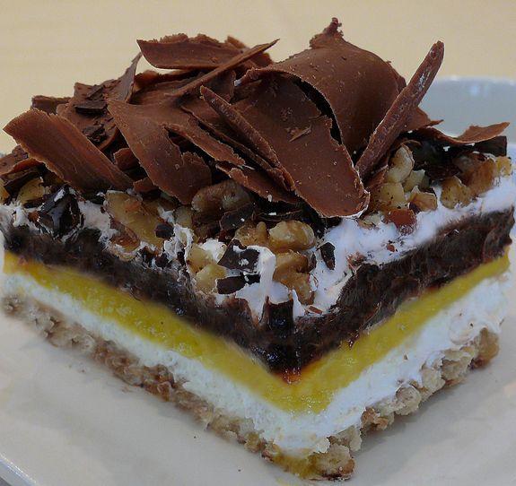 Better than Robert Redford Icebox Cake from NoblePig.com