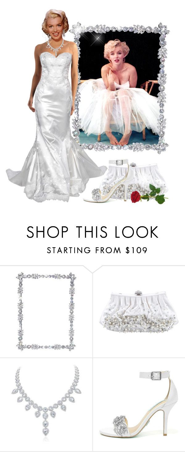 """""""A Rose Performance"""" by itsablingthing ❤ liked on Polyvore featuring Olivia Riegel, Judith Leiber, Priscilla of Boston and Betsey Johnson"""