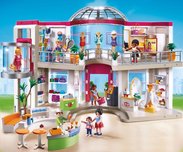 Shopping Mall Playmobil