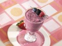 Recept Vitality Shake. Heerlijke smoothie zonder zuivel die bomstaat van het fruit. Krijg je veel energie van.