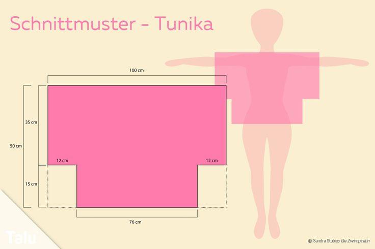 Tunika-Schnittmuster