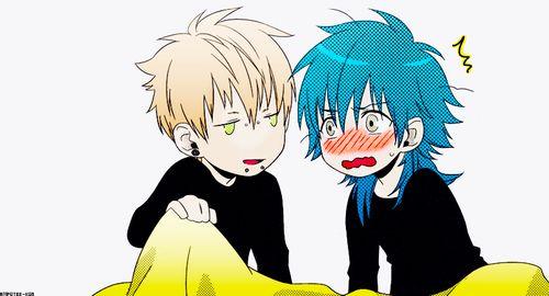 Dramatical Murder, Aoba is so cute ;3; ♥