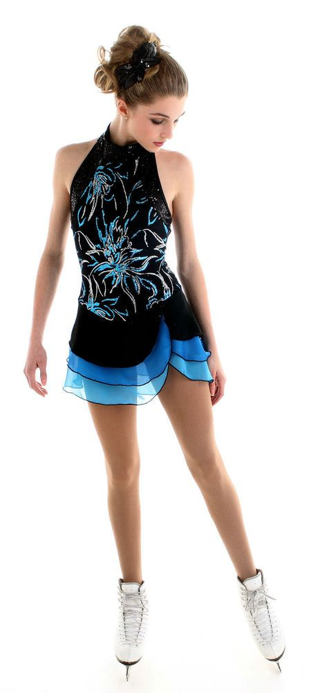 NEW COMPETITION SKATING DRESS Elite Xpression1525 MADE ORDER 3 WEEKS FABRICATION