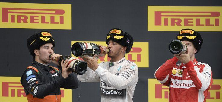 F1: Russian Grand Prix – in pictures
