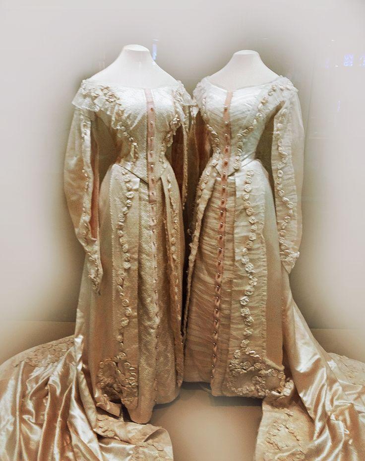 Tatiana and Olga's court dresses