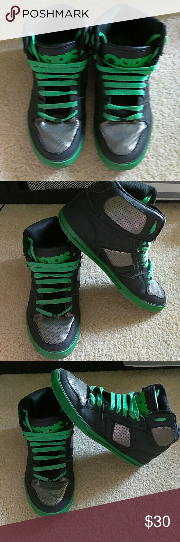 Osiris men's shoes Osiris mens sneakers. Worn but still in good shape! Osiris Shoes Sneakers