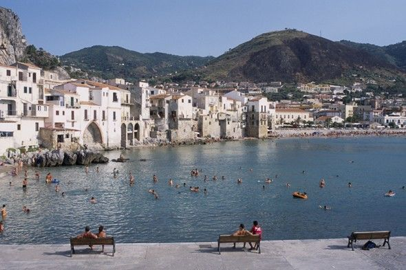 Cefalu, Sicily - northern Sicily, golden sand beaches   www.liberatingdivineconsciousness.com