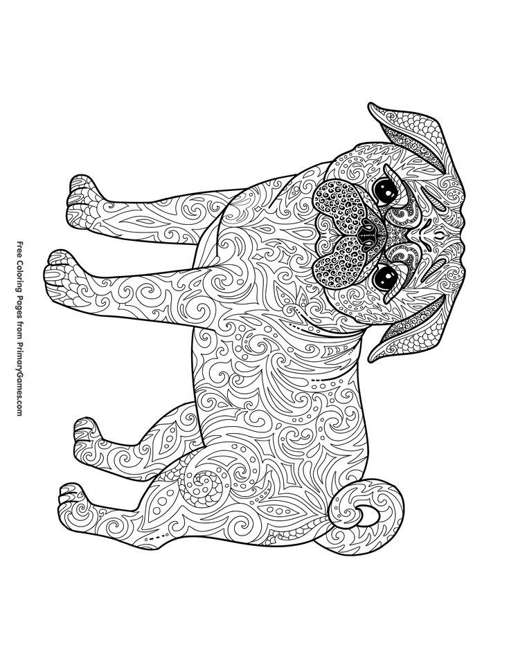 97 best Printable Coloring Pages images on Pinterest Coloring - new animal coloring pages with patterns