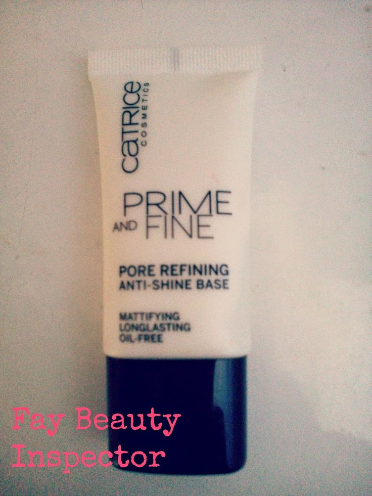 Fay Beauty Inspector : CATRICE PRIME AND FINE REVIEW