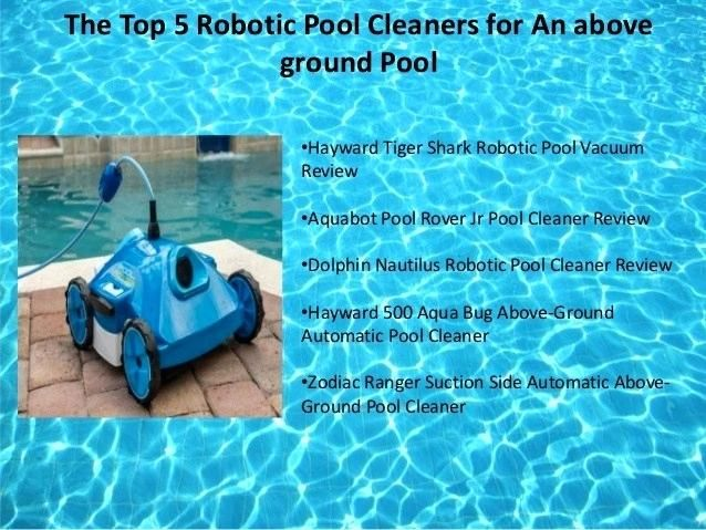 The 10 Best Automatic Pool Cleaners Buying Guide Automatic Pool