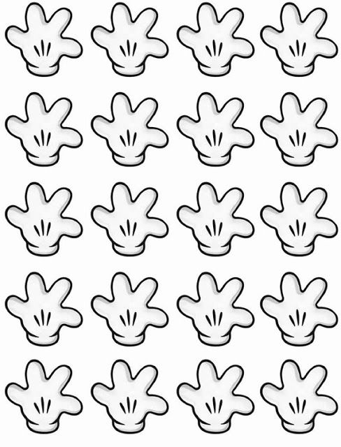 Mickey Mouse Hands or Gloves Templates with a variety of gestures!!! Use to explain classroom rules!! Free! (If you need to enlarge...use an overhead projector---I will let you use mine! ~pat