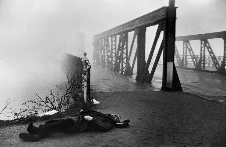 Henri Cartier-Bresson  Near Strasbourg,1945