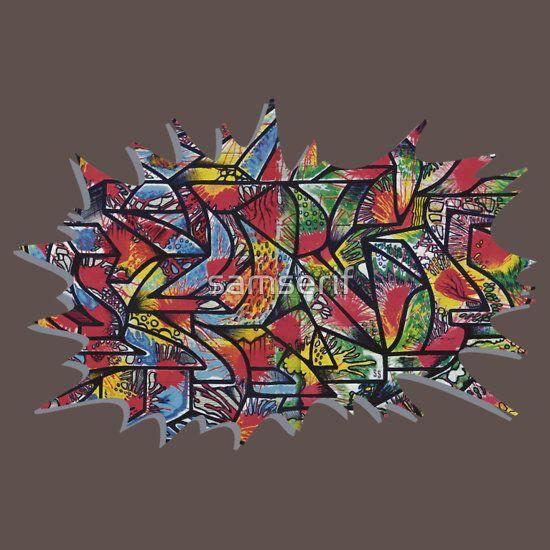#serifexplosion #explosion #graffiti #wallsnotebook #samserif