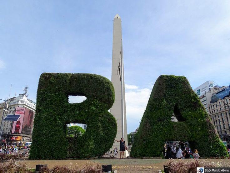 D&D Mundo Afora: Buenos Aires (Argentina) - obelisco