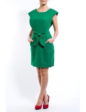 Rochie funda in talie si buzunare Verde  Brand: Cortifiel