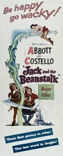 Jack and the Beanstalk (1952) Bud Abbott, Lou Costello