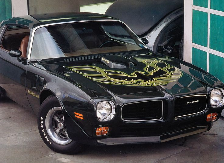 1973 Pontiac Firebird Trans Am Sd