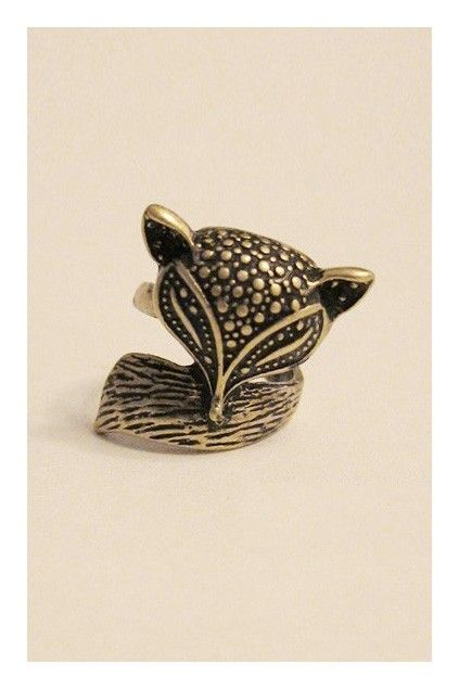 Retro cute little fox personality anima ring. Old style with the unique design and personality.$8
