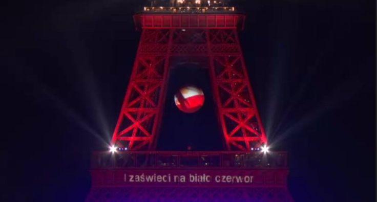 Zdjęcie numer 5 w galerii - Udało się! Biało-czerwona wieża Eiffla! A wszystko to dzięki WASZYM głosom