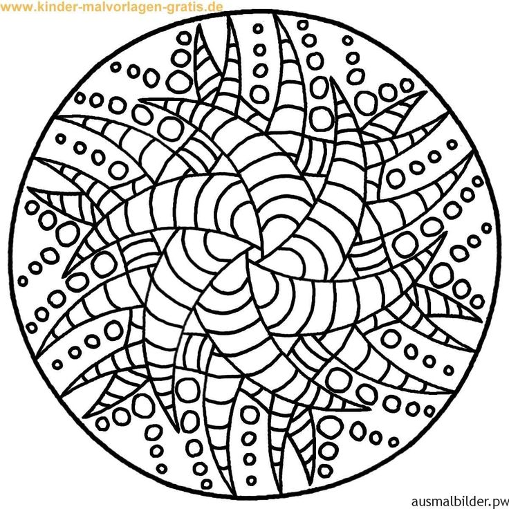 Mandala Zum Ausdrucken 01