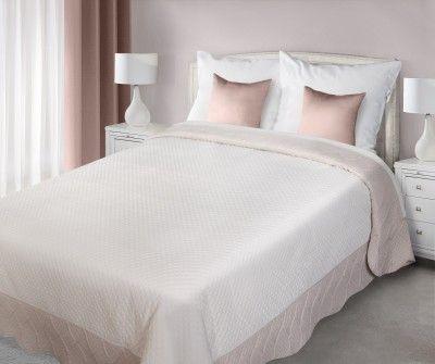 Krémovo-béžový prehoz Adela je dostupný v 2 rozmeroch: 170x210 alebo 220x240 cm.