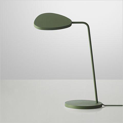 Muuto leaf btable lampe, desktop lamp, work light, bord lampe, skrivebordslampe, arbejdslampe, designer lamp, designer lampe.