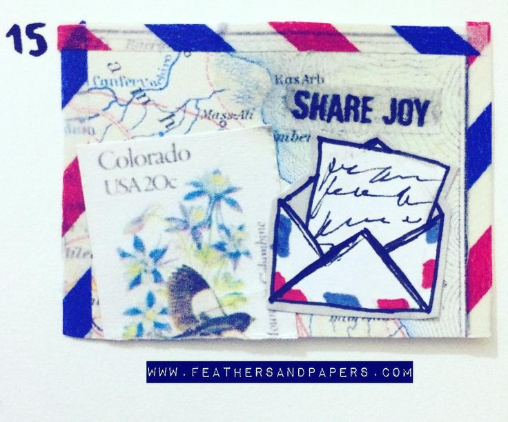 [228/366] Share joy  #Crafts #artproject #365project #366days #366project #feath… – 365 Art Calendar