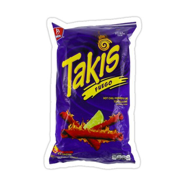Takis Sticker By Anna Laimo In 2021 Snacks Chips Snack Chips