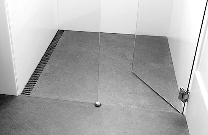 A solution for the shower drain dilemma: Infinity Drains that virtually disappear. Infinity Drain recently introduced two drain systems that should be on t