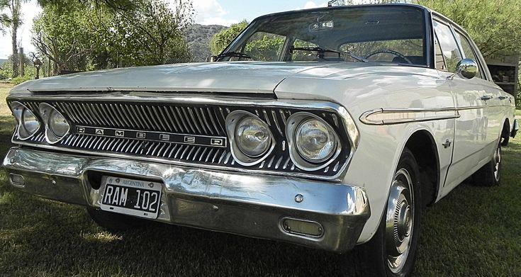 #Rambler #Classic 660 modelo 1964 boca de pescado. http://www.arcar.org/rambler-ika-1964-68272