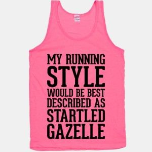 Fit'n'Fashionable: Funny Running Tank Tops   The Fit Foodie MamaThe Fit Foodie Mama