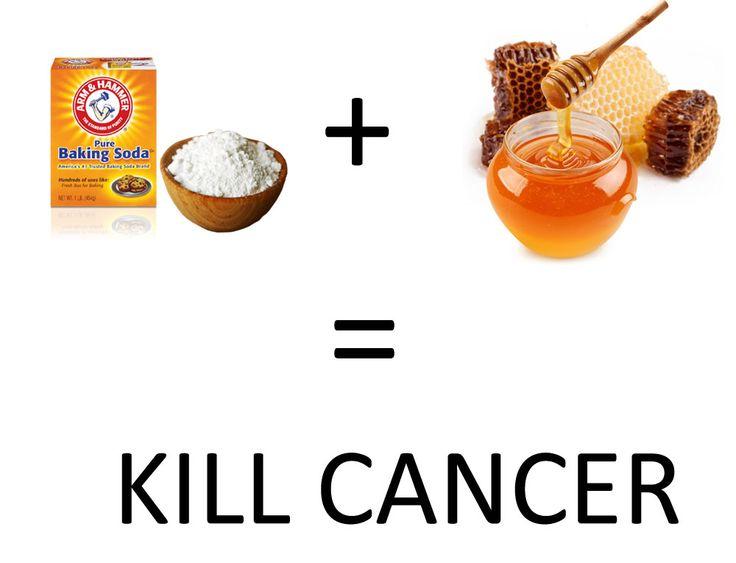 Manfaat Soda Kue Untuk Mengobati Kanker Secara Alami  Baking Soda + Honey = Natural Killer for Cancer